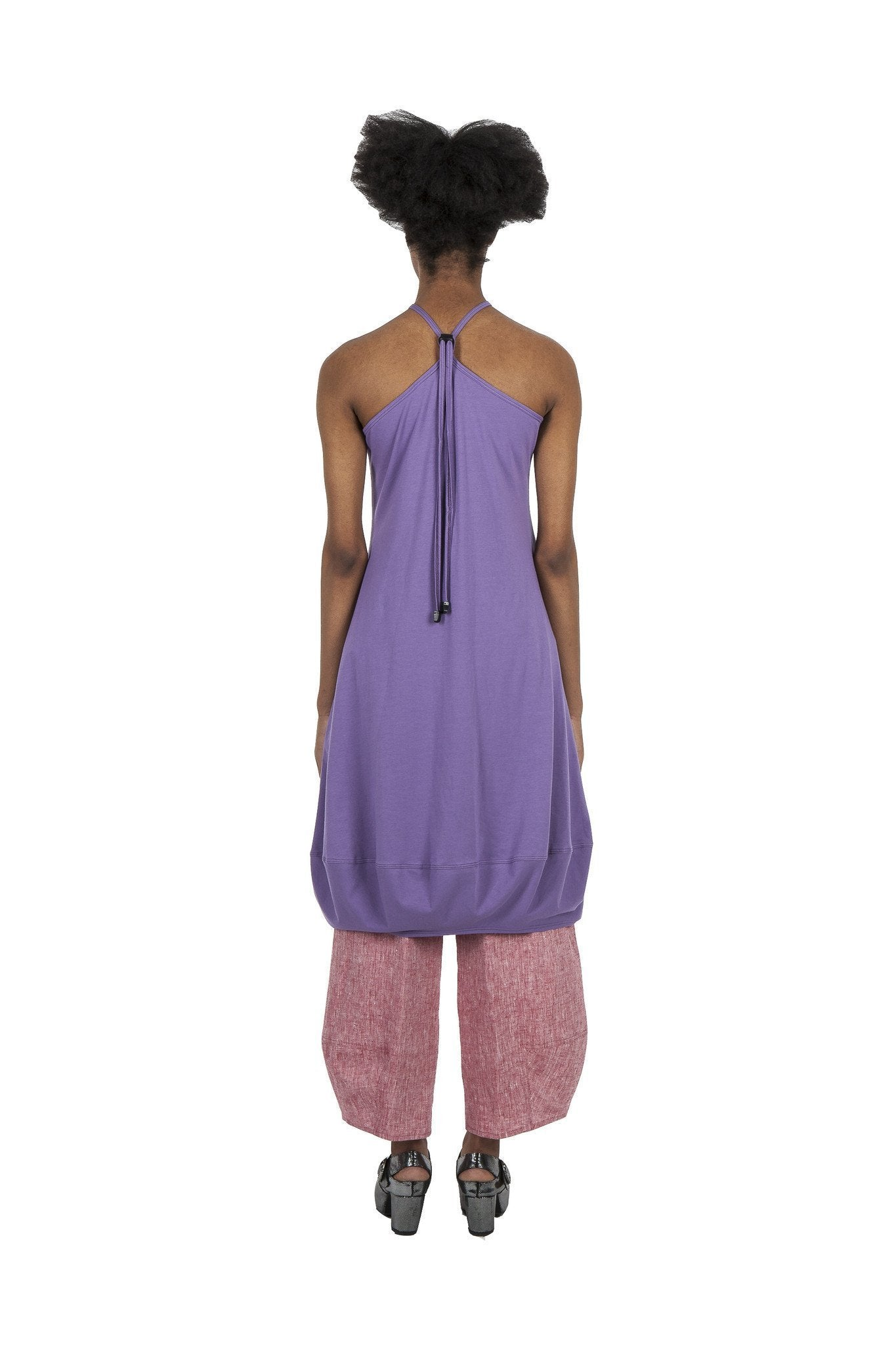 Dolphine Dress  I  Purple