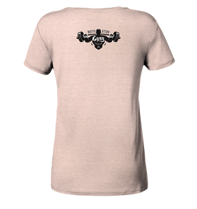 GYM-Motivation - Ladies Organic Shirt (meliert)