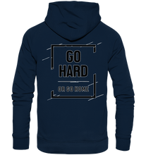 Laden Sie das Bild in den Galerie-Viewer, GO HARD - Organic Hoodie