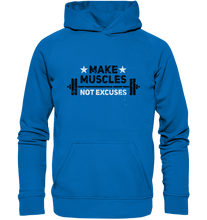 Laden Sie das Bild in den Galerie-Viewer, MAKE MUSCLES - Basic Unisex Hoodie