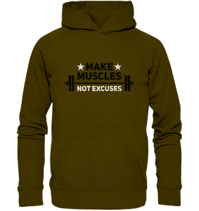 MAKE MUSCLES - Basic Unisex Hoodie