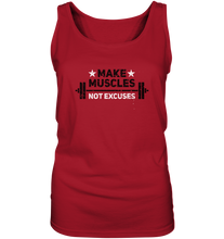 Laden Sie das Bild in den Galerie-Viewer, MAKE MUSCLES - Ladies Tank-Top