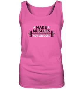 MAKE MUSCLES - Ladies Tank-Top