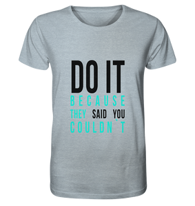 DO IT - Organic Shirt (meliert)