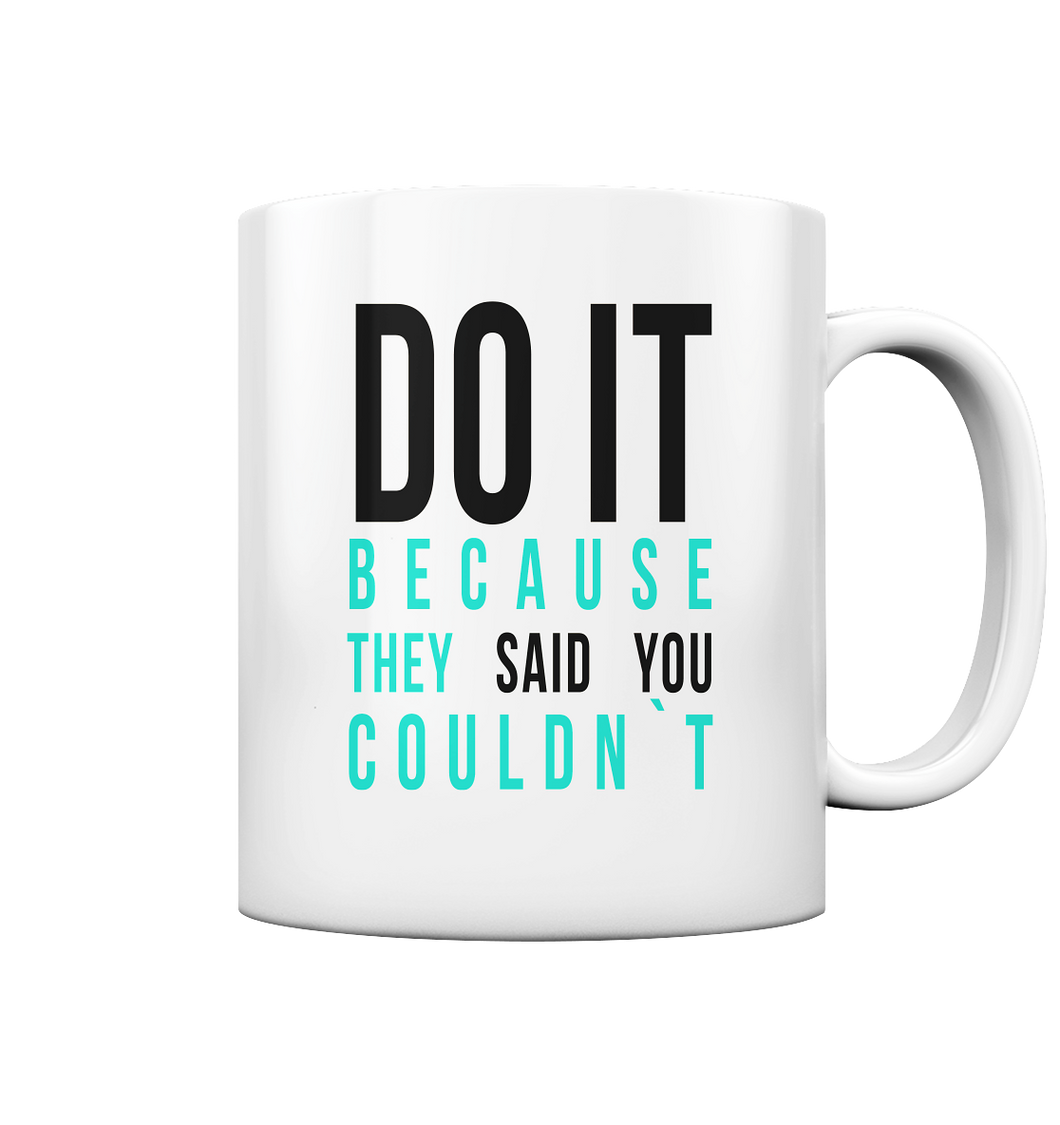 DO IT - Tasse glossy