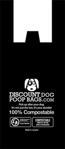 Compostable Poop Bags - Black