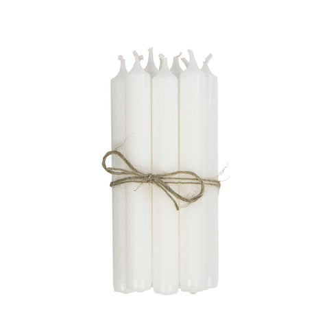 Classic Candle S/10 White