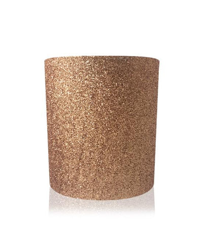Glitter Christmas Candles