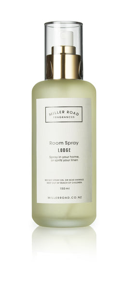 Luxury Room Spray - Miller Road Glass bottle