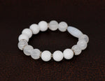 Load image into Gallery viewer, Selenite, jasper, African bead bracelet