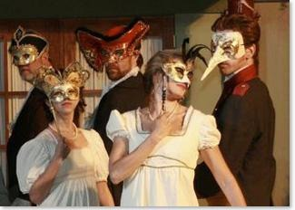 Masked Ball Preparation - Jane Austen Online