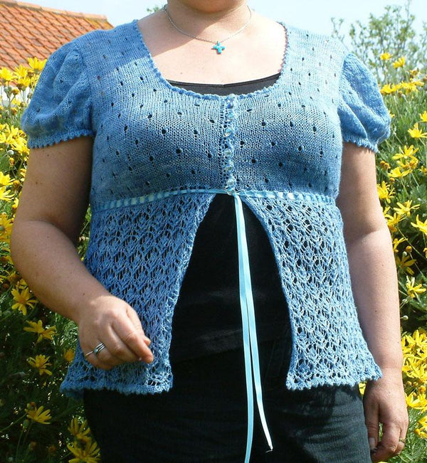 Emma: A Summer Sweater Knitting Pattern