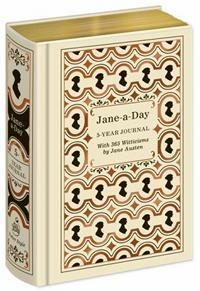Jane-a-Day: The 5 Year Journal, by Potter Style - JaneAusten.co.uk