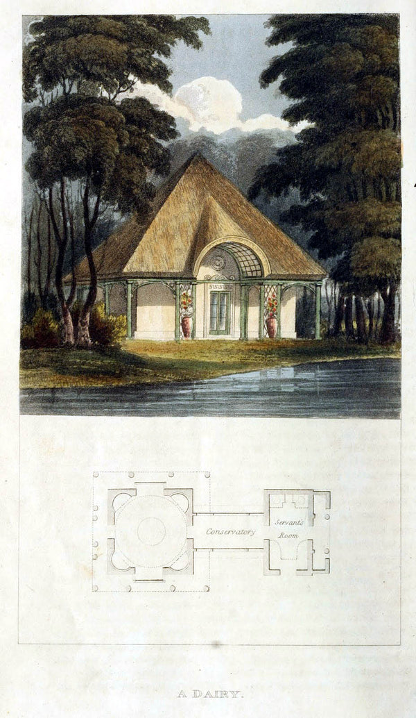 Rural Residences: Designs for Cottages, Small Villas and Other Buildings