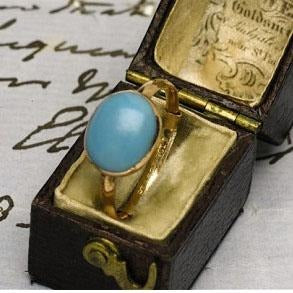 Anello turchese di Jane Austen - JaneAusten.co.uk