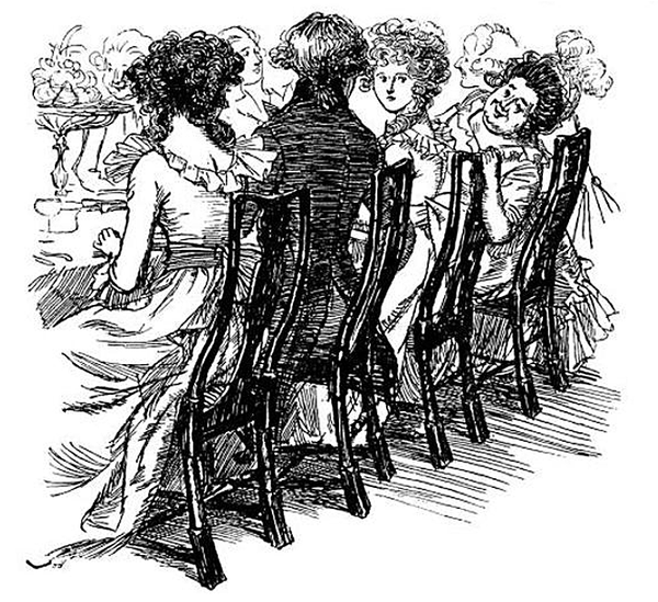 Regency Dinner Partys und Etikette - JaneAusten.co.uk