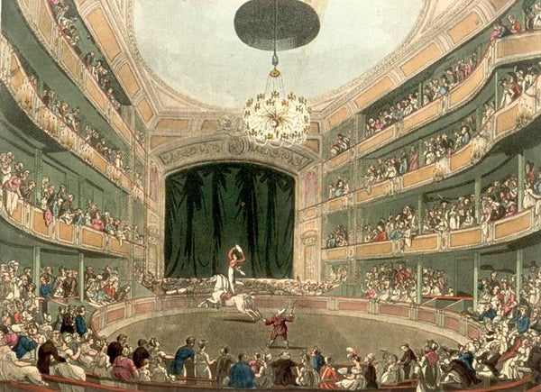 The Microcosm of London: Astley's Amphitheatre - JaneAusten.co.uk