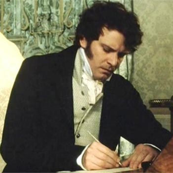 The Jane Austen Quiz - Looking At Mr Darcy's Letter