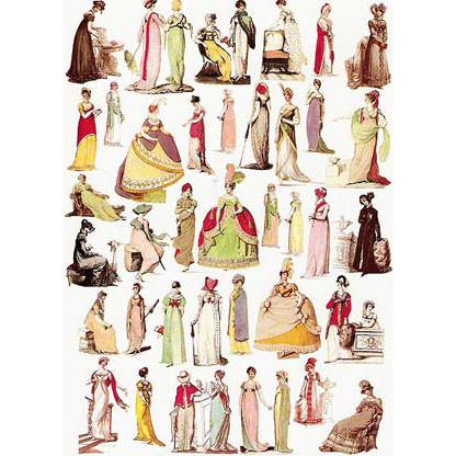 Jane Austen On-line: Period Fashion and Patterns - JaneAusten.co.uk
