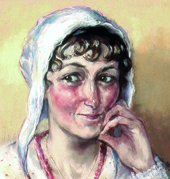 A New Jane Austen Portrait par Melissa Dring - JaneAusten.co.uk