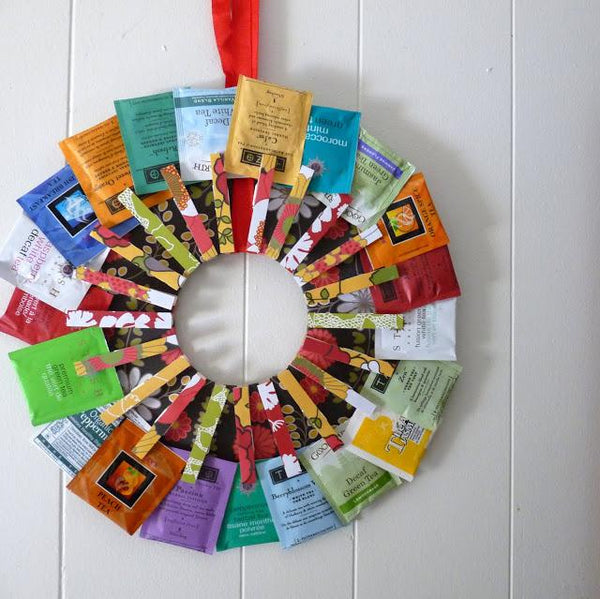 DIY Tea Wreath - JaneAusten.co.uk