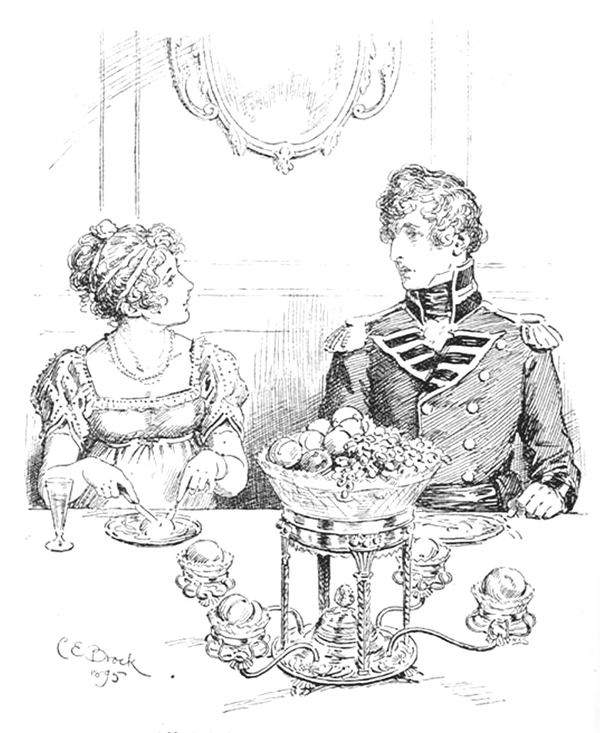 The Regency Dessert Course