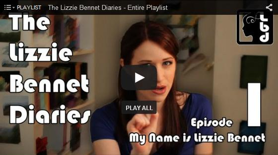 Jane Austen in the Digital Age: The Lizzie Bennet Diaries - Jane Austen Online