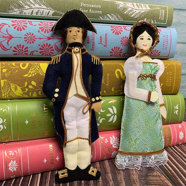 Captain Wentworth Doll - Persuasion Decoration - JaneAusten.co.uk