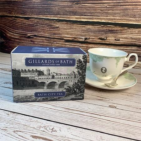 Bath City Blend Tea Gift Box - JaneAusten.co.uk