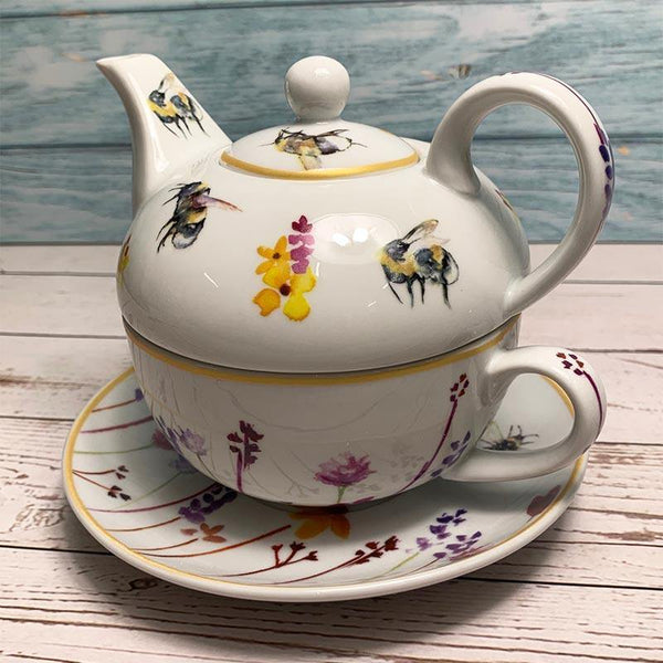 Busy Bees Tea for One - JaneAusten.co.uk