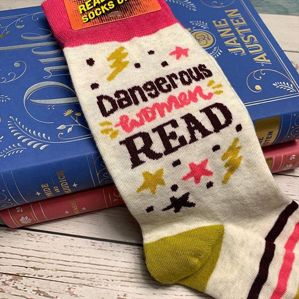 Dangerous Women Read Socks - JaneAusten.co.uk