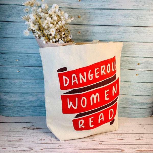 """Dangerous Woman Read"" Tote Bag"