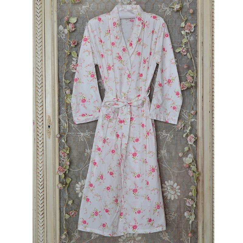 Daphne Luxury Cotton Dressing Gown