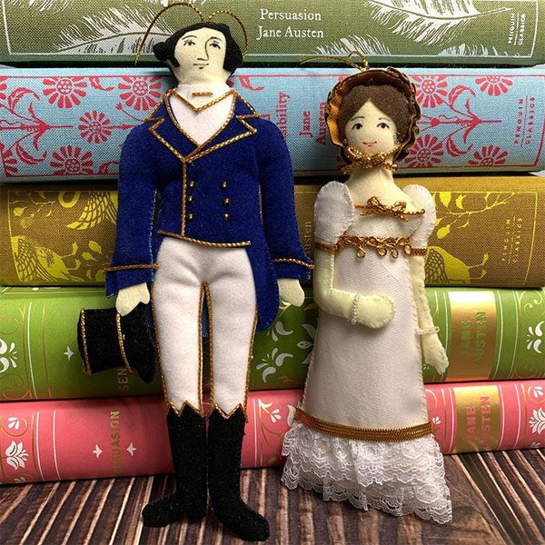 Mr. Darcy Doll - Pride and Prejudice Decoration - JaneAusten.co.uk