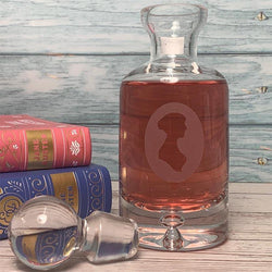 Jane Austen Glass Drinks Decanter