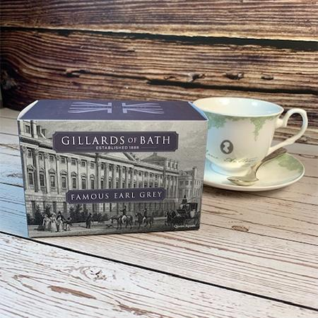 Famous Earl Grey Tea Gift Box - JaneAusten.co.uk