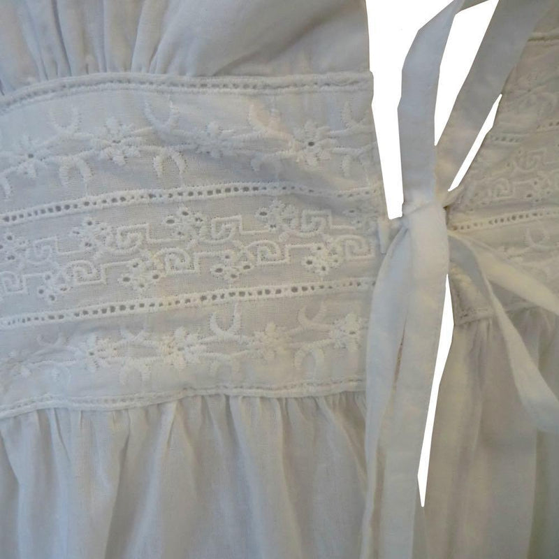 Baumwoll-Regency-Morgenkleid - Elinor - JaneAusten.co.uk