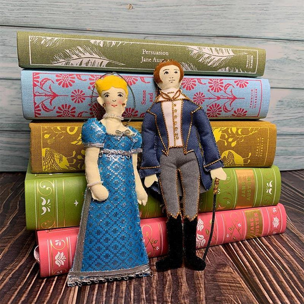 Mr. Knightley Doll - Emma Decoration - JaneAusten.co.uk