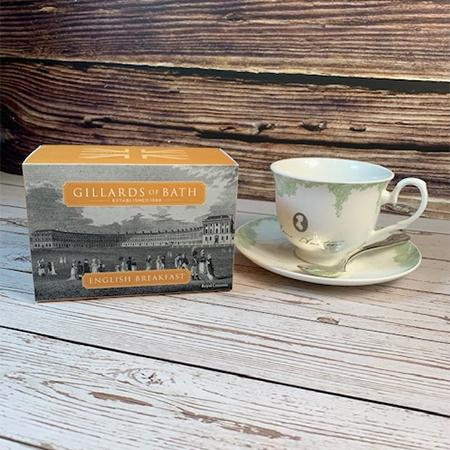 English Breakfast Blend Tea Gift Box - JaneAusten.co.uk