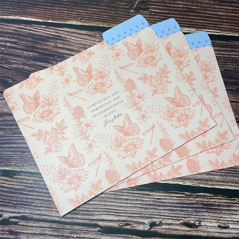 Set of 9 Jane Austen Files