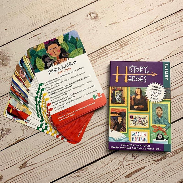 History Heroes - Artists in History Card Game