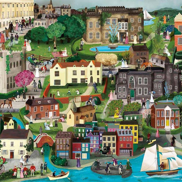 The World of Jane Austen 1000 piece Jigsaw Puzzle