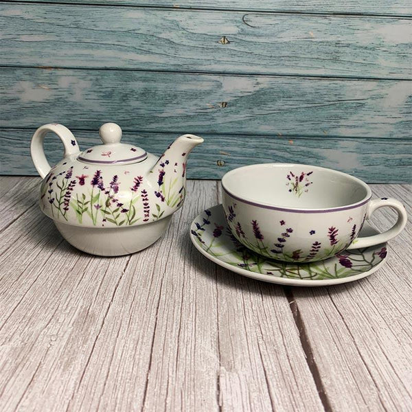Longbourn Lavender Tea for One - JaneAusten.co.uk
