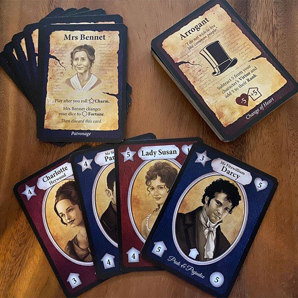 Jane Austen's Revenge - A Matchmaker Card Game Expansion - JaneAusten.co.uk