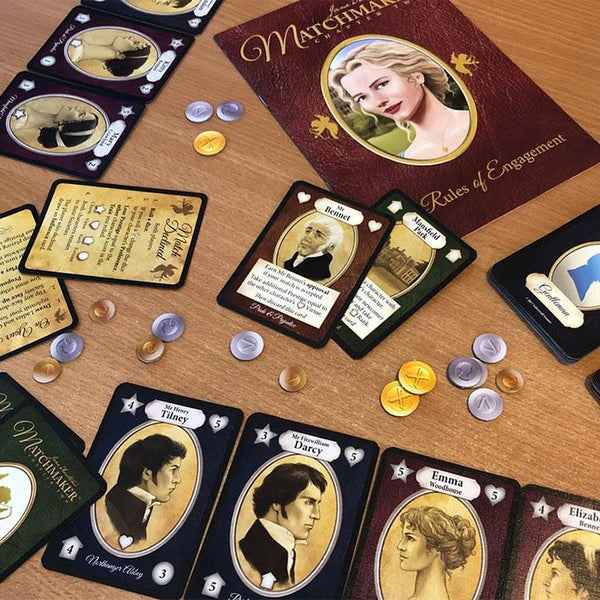 Jane Austen's Matchmaker Card Game