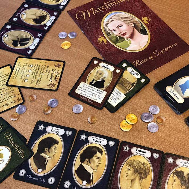 Jane Austen's Matchmaker Card Game - Jane Austen Online