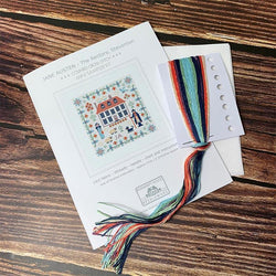 Jane Austen - Cross Stitch Mini Sampler Kit