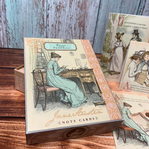 Jane Austen Pride and Prejudice Notecards