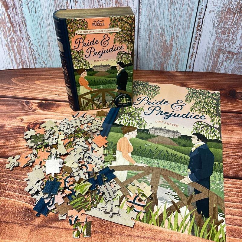 Pride and Prejudice Double Sided Puzzle