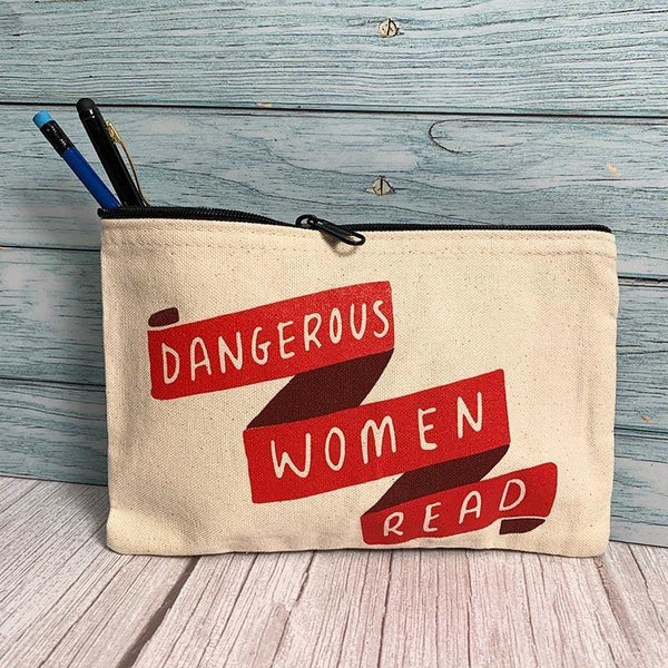 Dangerous Women Read Pencil Case - JaneAusten.co.uk